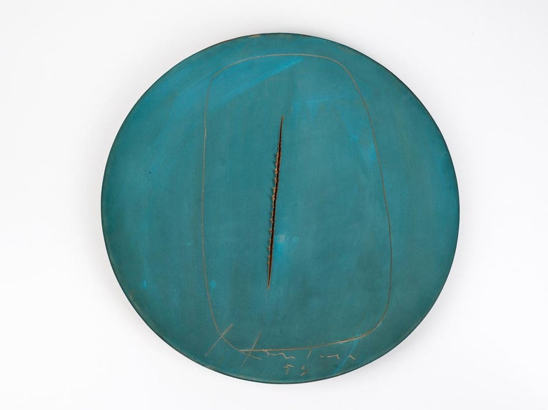 <i>Concetto spaziale</i>, 1959, by Lucio Fontana, offered by Bailly Gallery Geneva-Paris