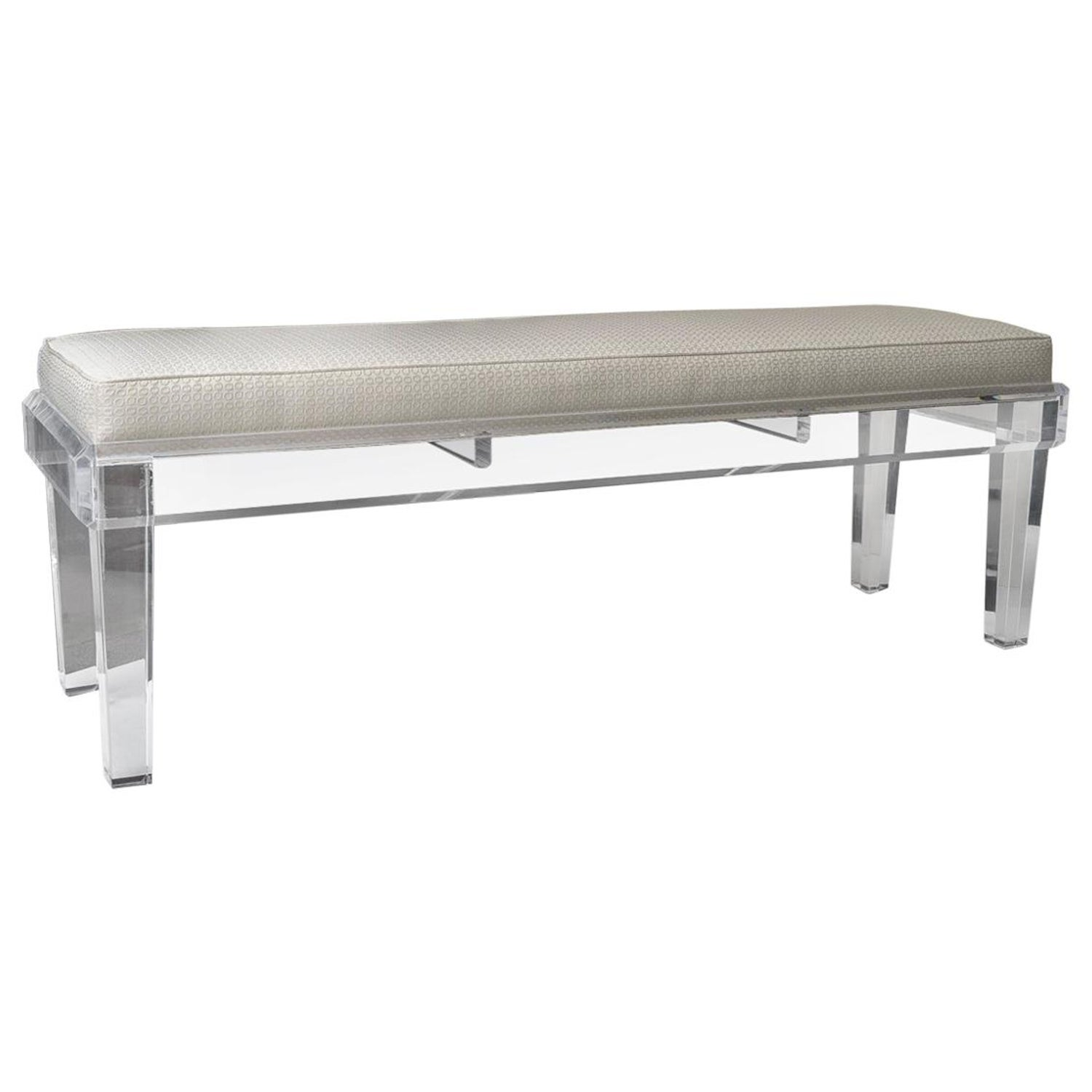 Miraculous Lucite Bench Gmtry Best Dining Table And Chair Ideas Images Gmtryco