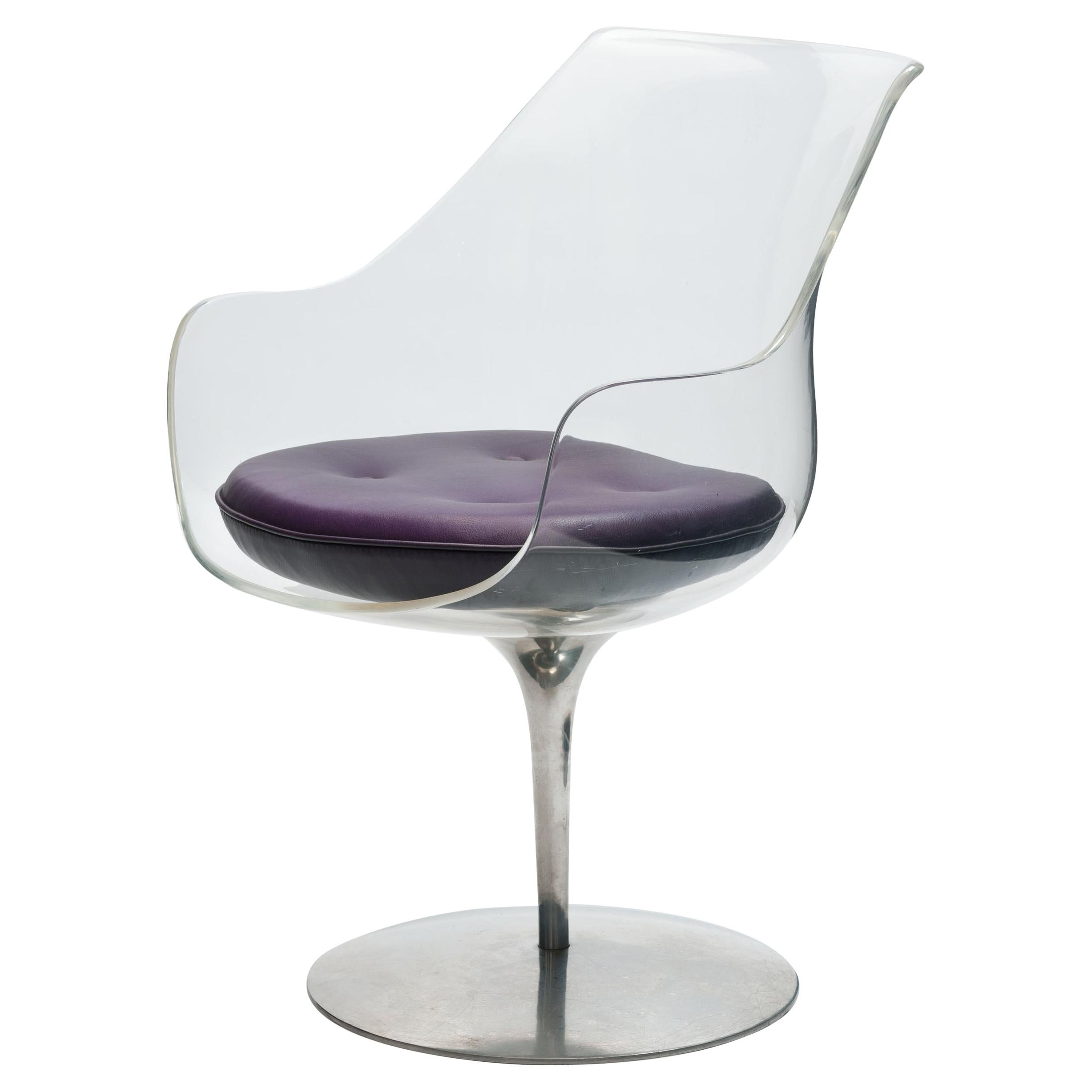 Lucite 'Champagne' Chair by Estelle & Erwin Laverne