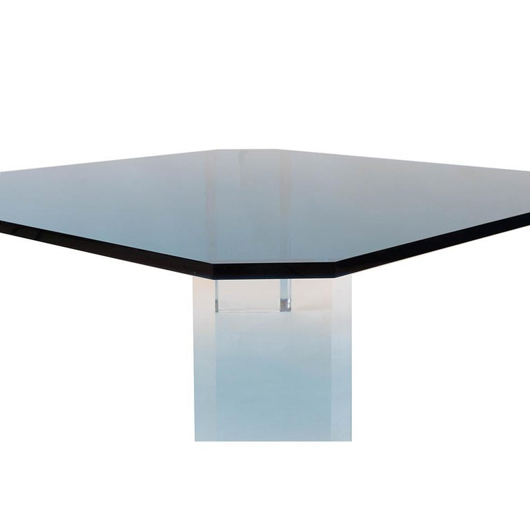 American Lucite Coffee Table For Sale