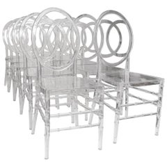 Lucite Dining Chairs