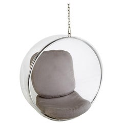 Lucite Hanging 'Bubble Chair' by Eero Aarnio for Adelta, Signed, Mint Condition