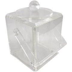 Lucite Ice Bucket