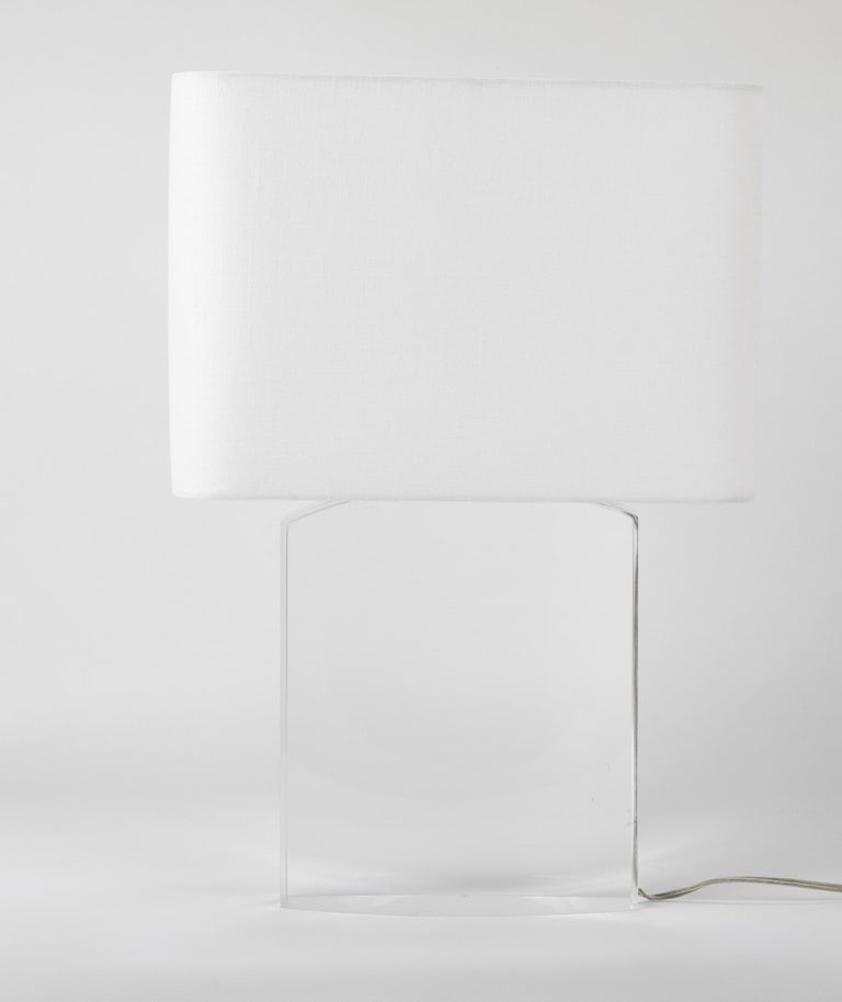 Lucite Lamp by Karl Springer For Sale 7