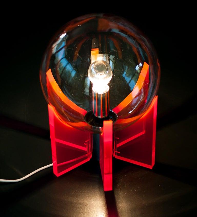 Mid-Century Modern Lucite Light For Sale