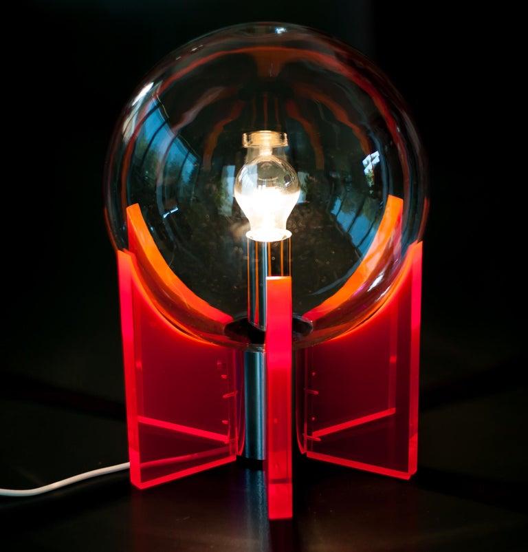 Italian Lucite Light For Sale