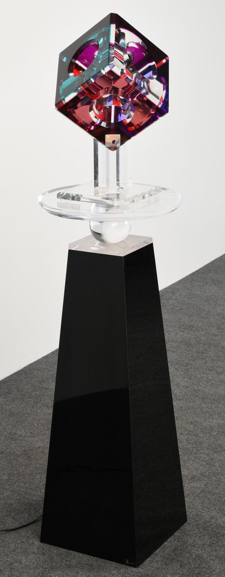 Lucite Sculpture by Shlomi Haziza, 2000s 6