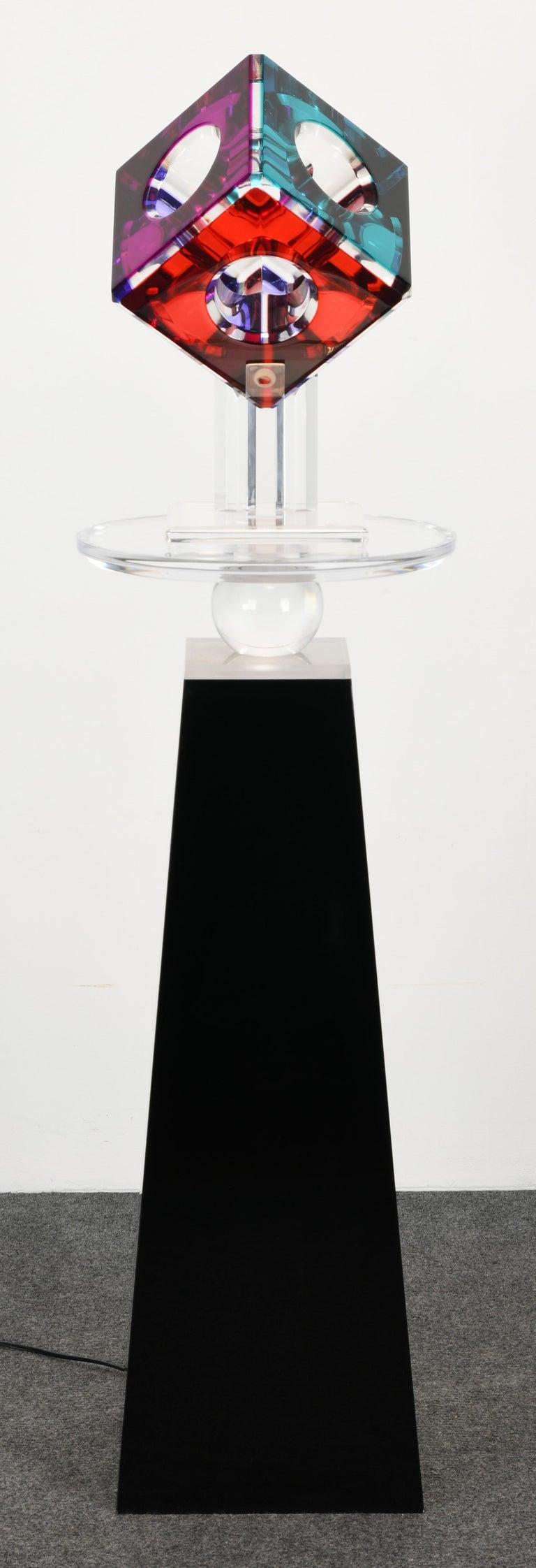 Lucite Sculpture by Shlomi Haziza, 2000s 8