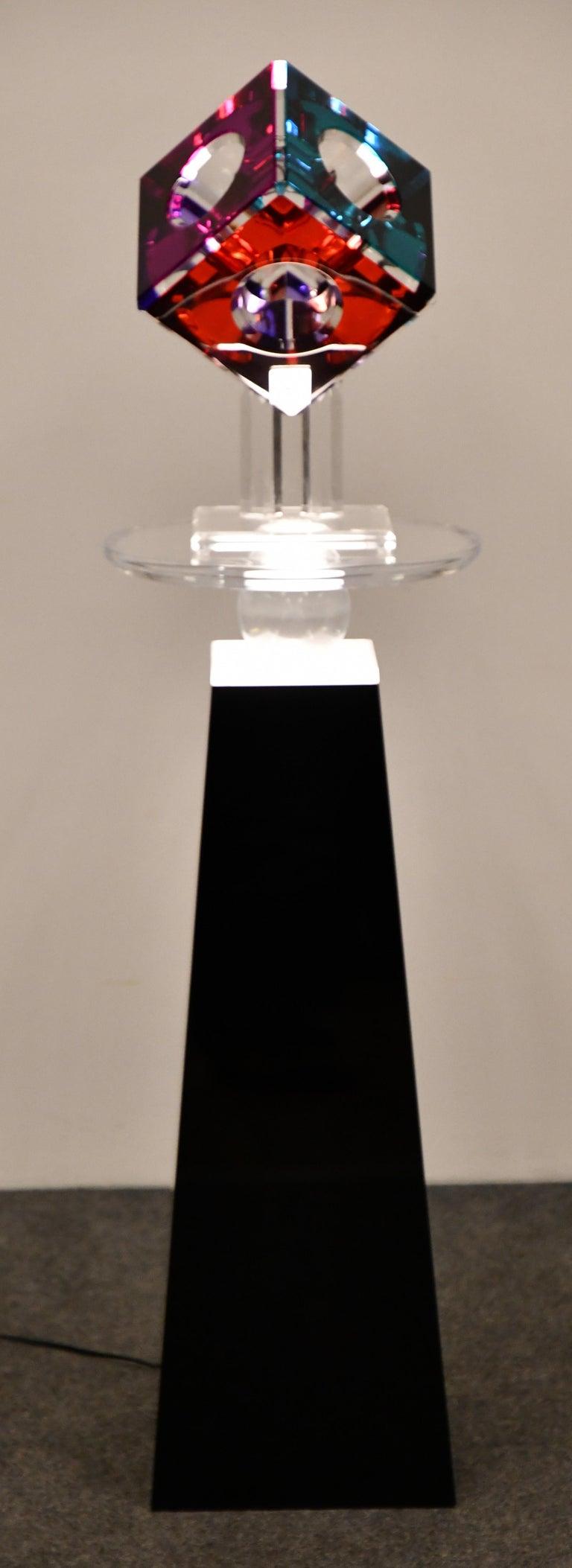 Lucite Sculpture by Shlomi Haziza, 2000s 9