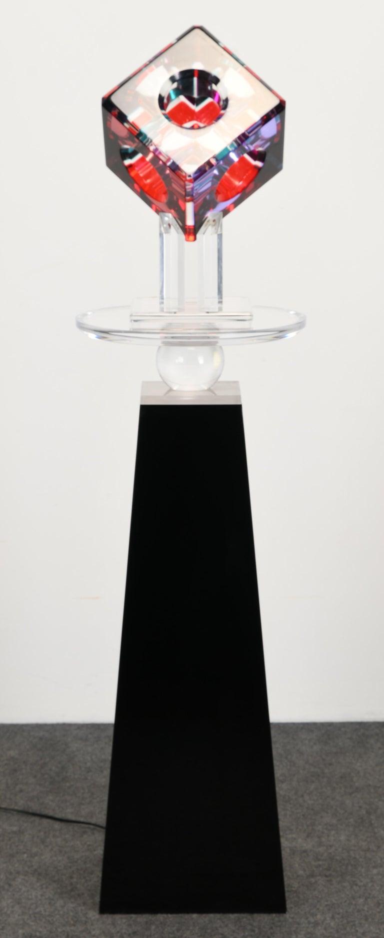 American Lucite Sculpture by Shlomi Haziza, 2000s