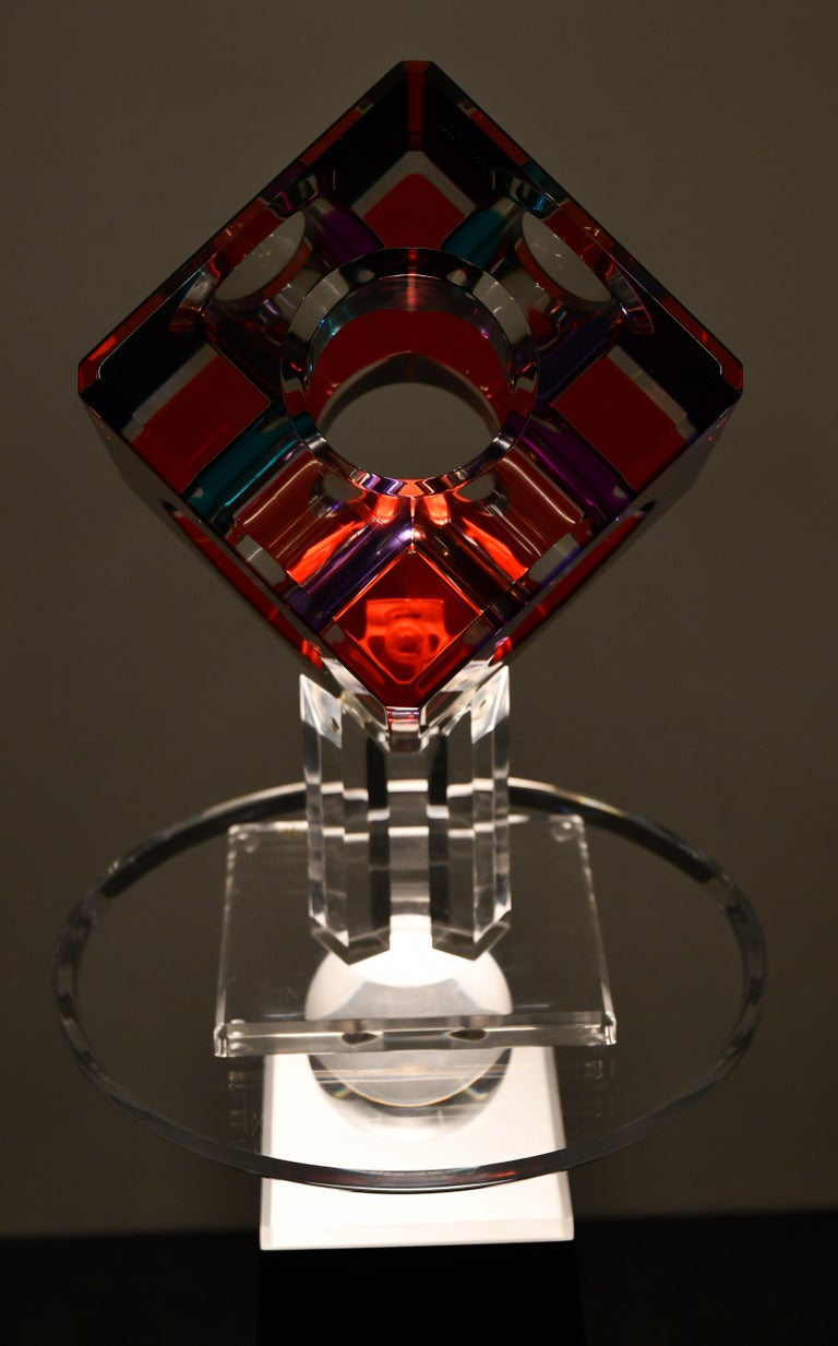 Contemporary Lucite Sculpture by Shlomi Haziza, 2000s