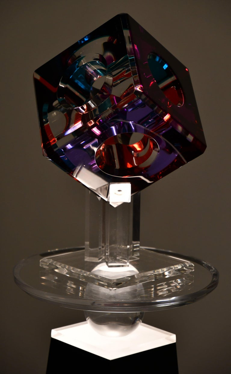 Lucite Sculpture by Shlomi Haziza, 2000s 1