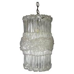 Lucite Vintage Hanging Pendant Lights