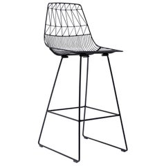 Lucy Bar Stool in Black by Bend Goods