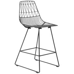 Lucy Counter Stool in Black by Bend Goods