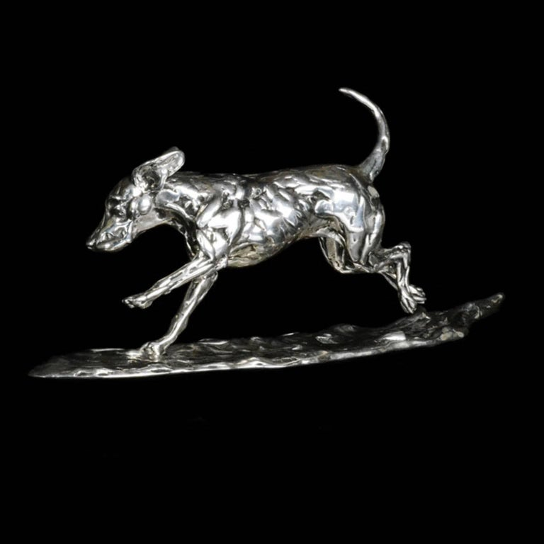 Running Hound - Contemporary Sculpture by Lucy Kinsella