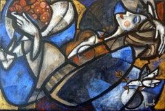 Rêve d'un murmure, cubist style