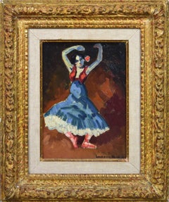 Danseuse Espagnole by LUDOVIC RODO PISSARRO - Fauvist Painting of Spanish Dancer