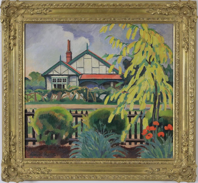 Ludovic-Rodo Pissarro Landscape Painting - Yellow Tree