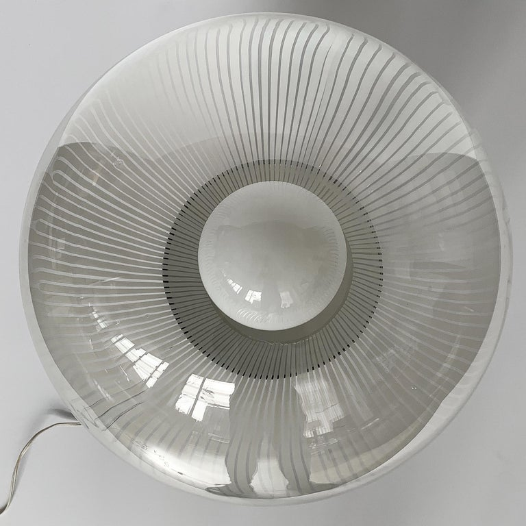Ludovico Diaz de Santillana Murano Glass Anemoni Table Lamp for Venini For Sale 4