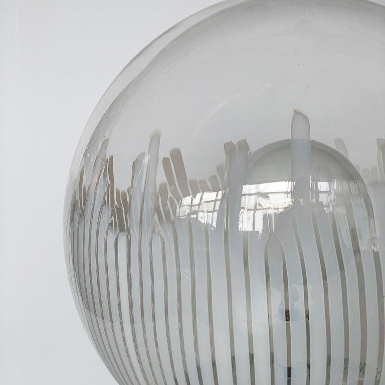 Ludovico Diaz de Santillana Murano Glass Anemoni Table Lamp for Venini In Good Condition For Sale In Chicago, IL