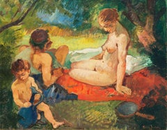 'The Nymph of the Woods', Paris Salon, Royal Academy, Charlottenborg, Benezit