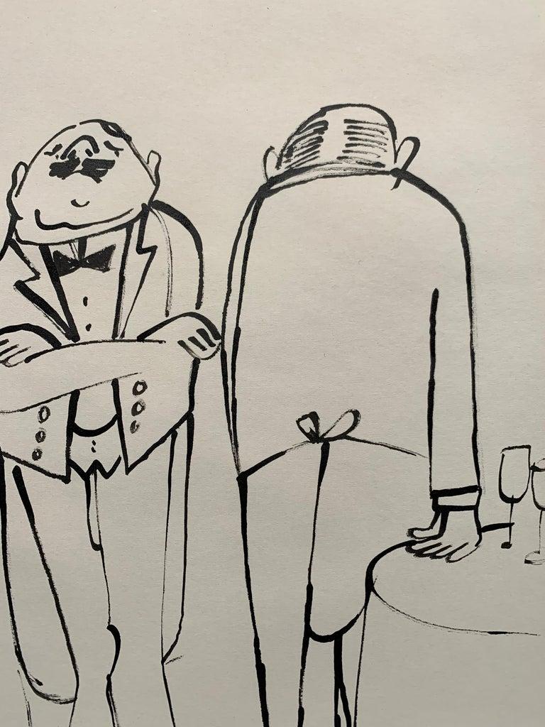 Perfect Service (La Bonne Table illustration) For Sale 2