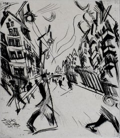 Street in Wilmersdorf, from: The Creators  German Expressionism Berlin