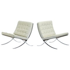 Ludwig Mies van der Rohe Barcelona Chairs - Signed and Stamped