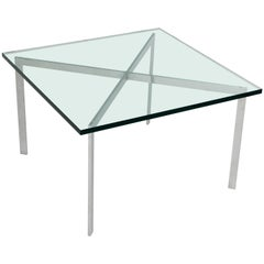 Ludwig Mies Van Der Rohe for Knoll Studio Barcelona Coffee Cocktail Table, 1990s