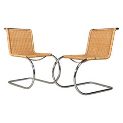 Ludwig Mies van der Rohe MR 10 Set of Side Chairs
