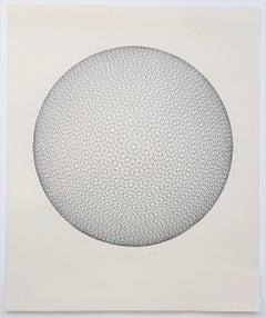 Geometric Circle Composition (Op Art)