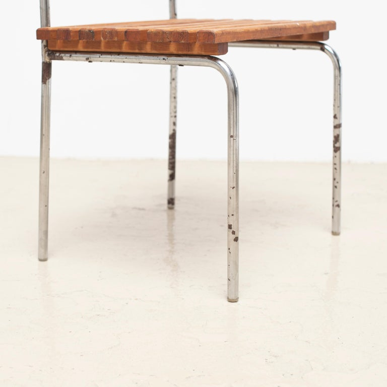 Luggage Rack or Stool from Les Arcs, 1960s For Sale 4