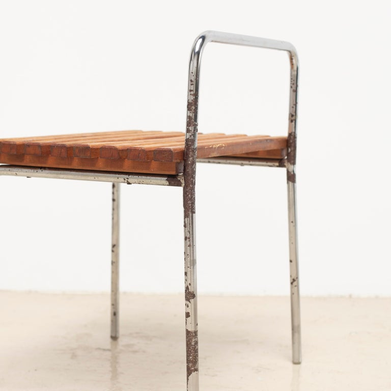 Luggage Rack or Stool from Les Arcs, 1960s For Sale 5