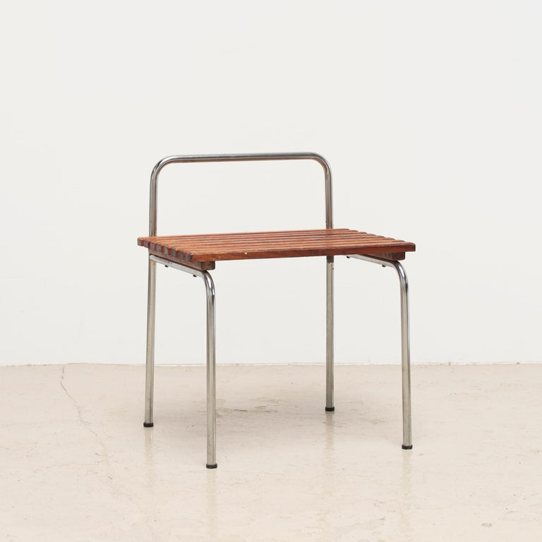 Luggage Rack or Stool from Les Arcs, 1960s For Sale 6