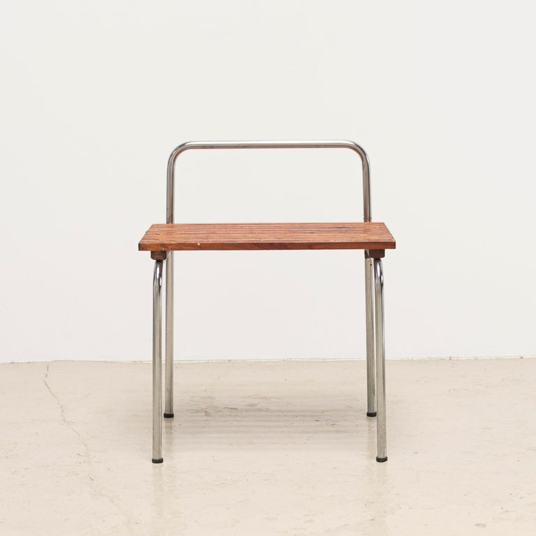 Luggage Rack or Stool from Les Arcs, 1960s For Sale 7