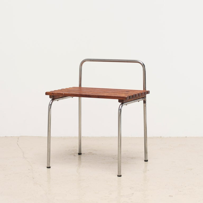 Luggage Rack or Stool from Les Arcs, 1960s For Sale 8