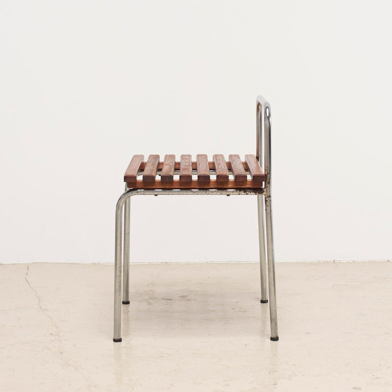 Luggage Rack or Stool from Les Arcs, 1960s For Sale 9