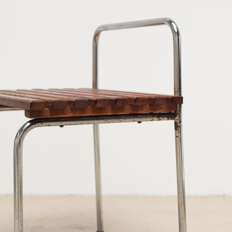 Luggage Rack or Stool from Les Arcs, 1960s For Sale 14