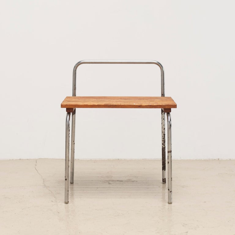 French Luggage Rack or Stool from Les Arcs, 1960s For Sale