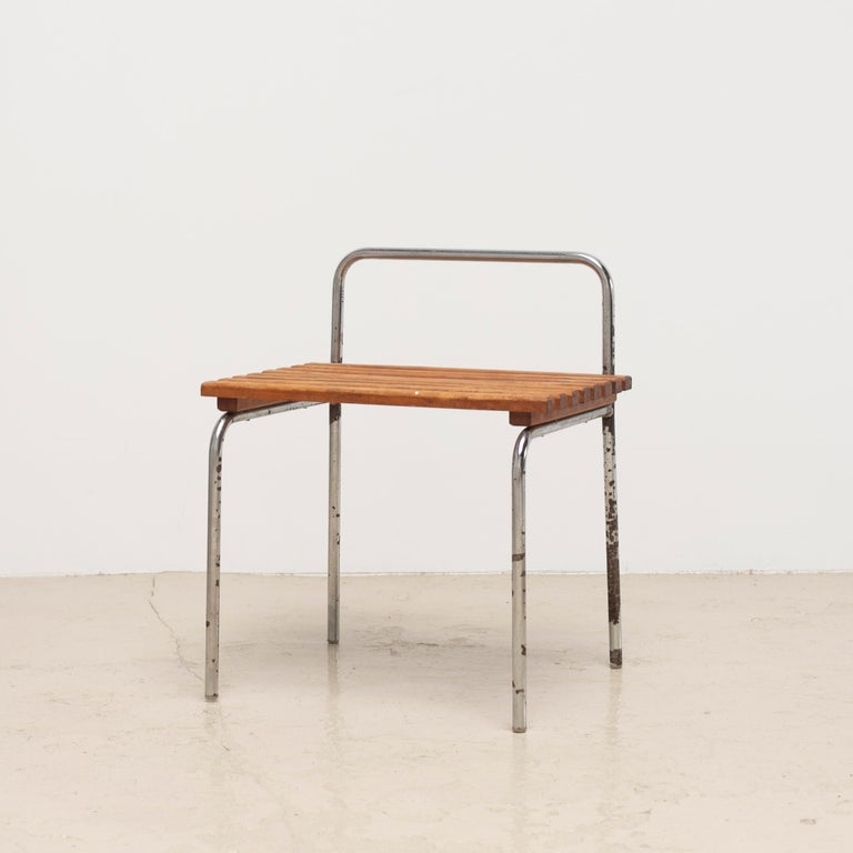 Luggage Rack or Stool from Les Arcs, 1960s In Fair Condition For Sale In Tokyo, JP