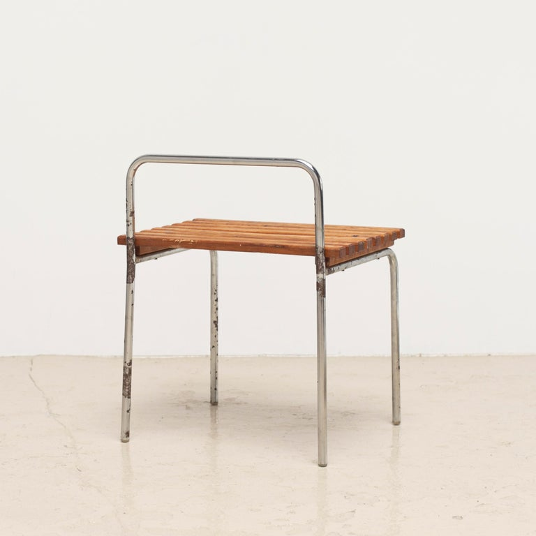 Luggage Rack or Stool from Les Arcs, 1960s For Sale 1