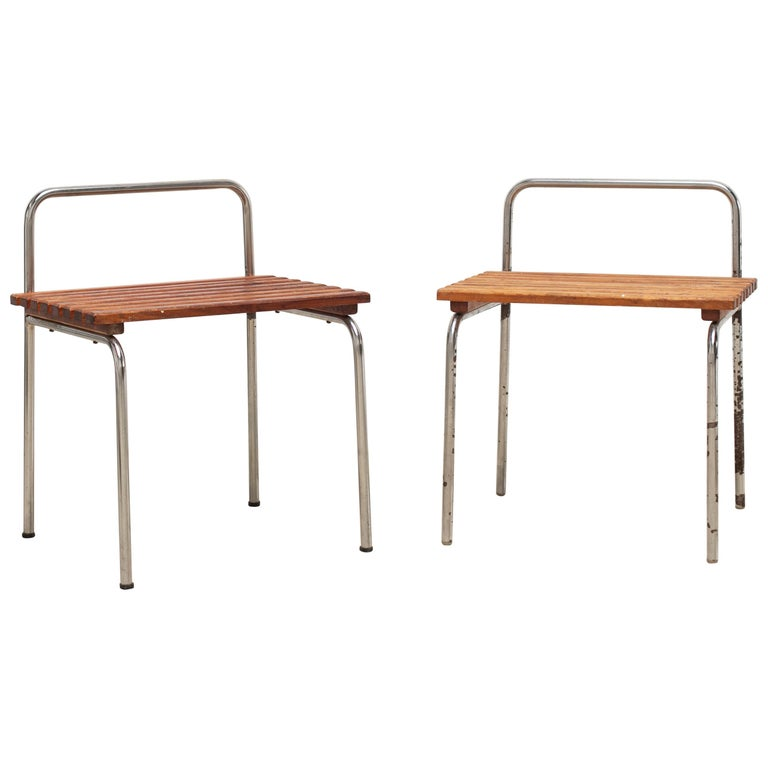 Luggage Rack or Stool from Les Arcs, 1960s For Sale