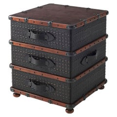 Luggage Style Bedside Chest of Drawers