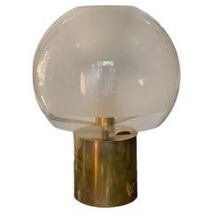 Luigi Caccia Dominioni for Azucena 'Porcino' Brass Table Lamp