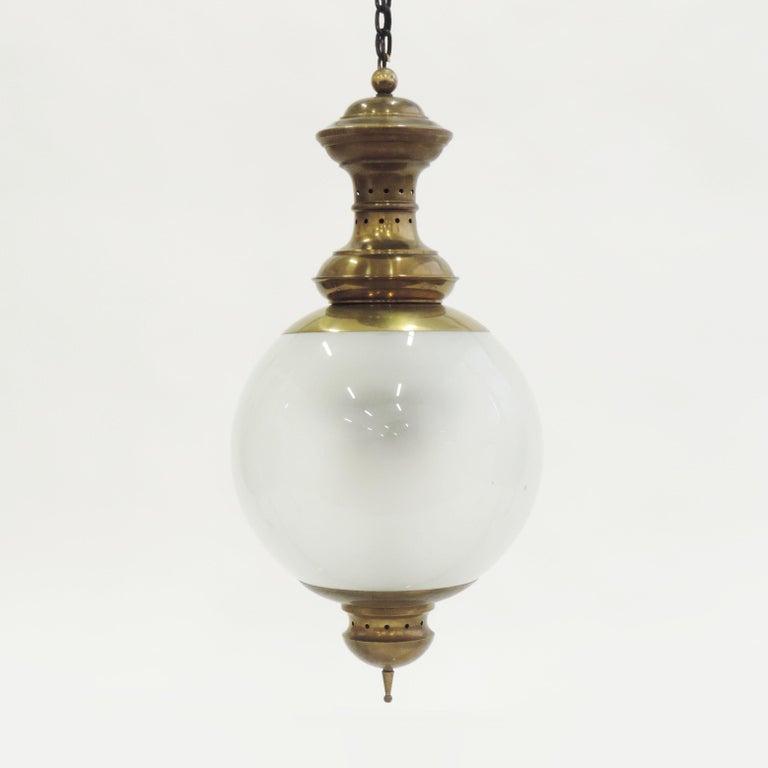 Large Luigi Caccia Dominioni LS1 ceiling lamp for Azucena.