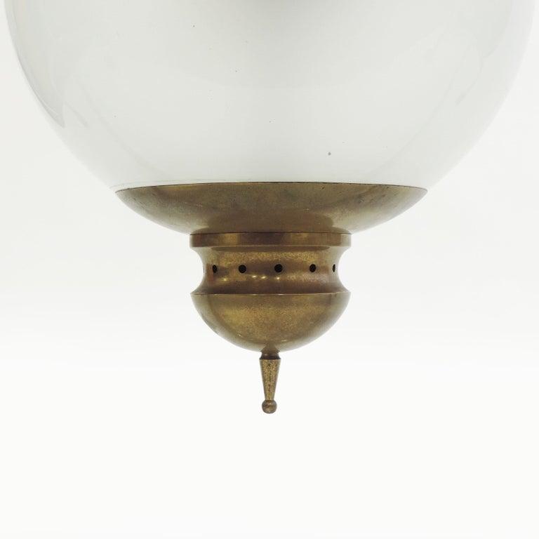 Mid-Century Modern Luigi Caccia Dominioni LS1 Ceiling Lamp for Azucena, Italy, 1950 For Sale