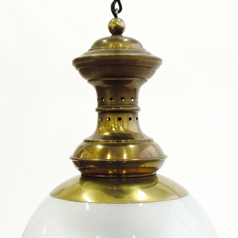 Italian Luigi Caccia Dominioni LS1 Ceiling Lamp for Azucena, Italy, 1950 For Sale