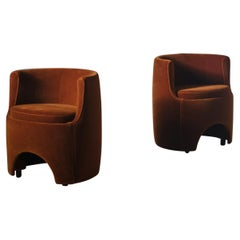 Luigi Caccia Dominioni 'P22 Studio' Chairs, Italy 1975
