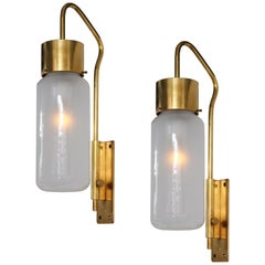 Luigi Caccia Dominioni Pair of Wall Lights Model LP 10
